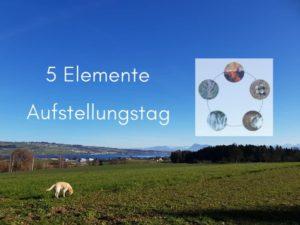 Aufstellungstag mit den 5 Elementen - Natürliche Balance herstellen